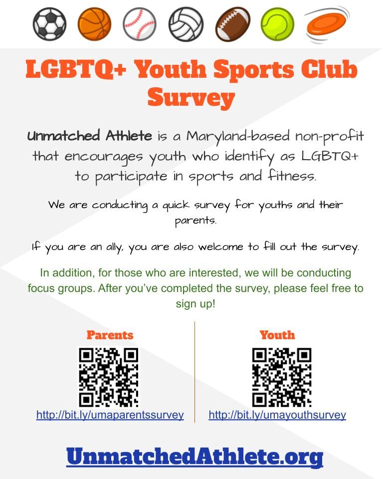 LGBTQ+ Youth Sports Survey