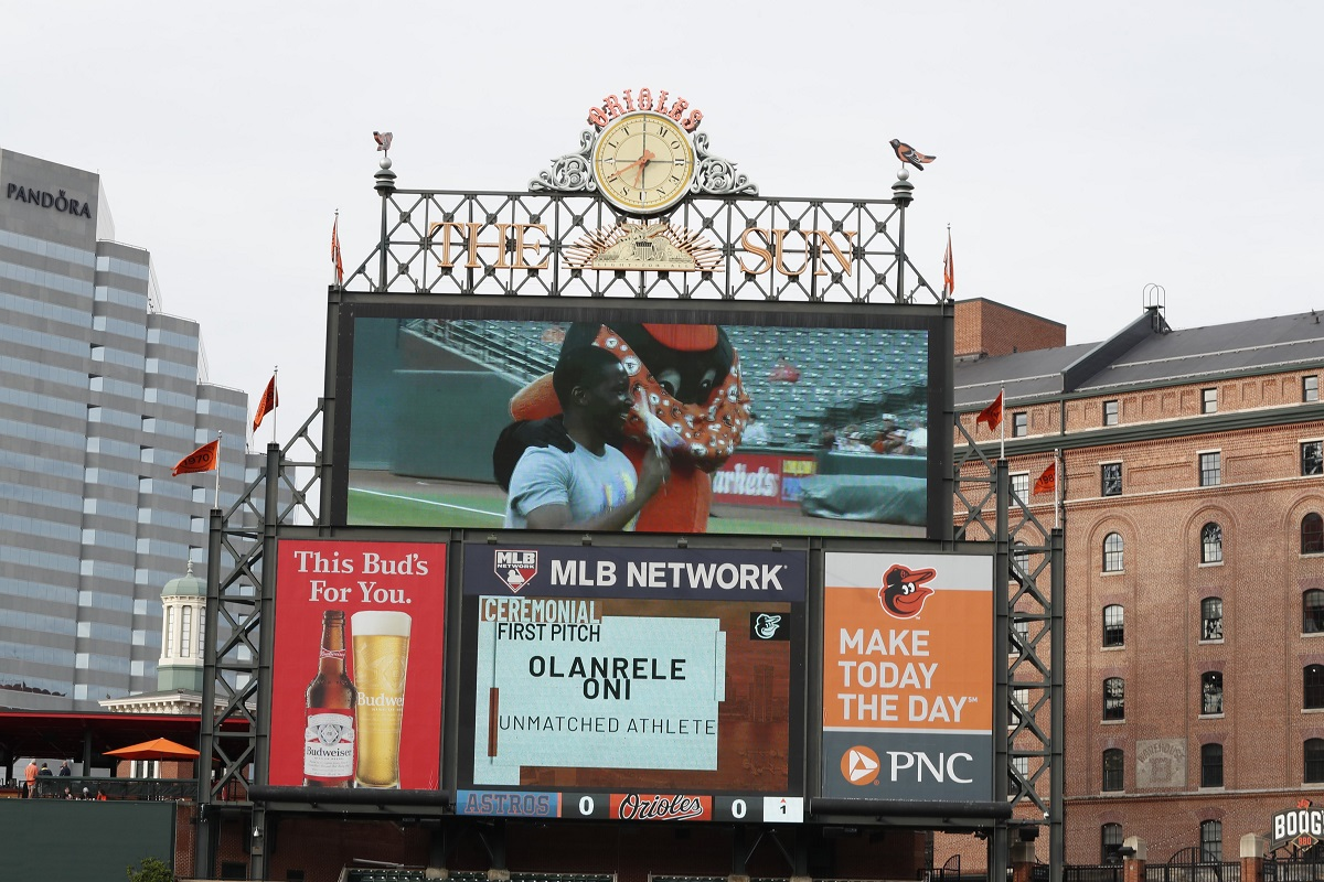 Photos from Unmatched's Opening Pitch at the Orioles LGBTQ Pride Night