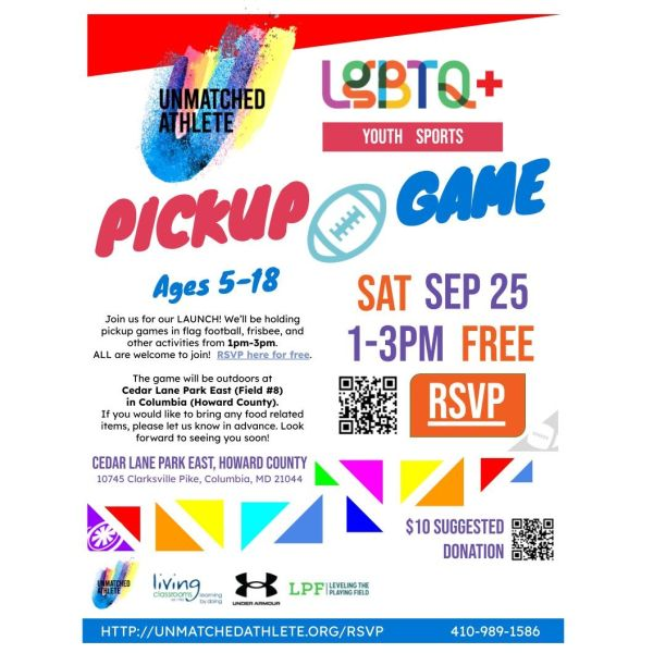 Launch Pickup Game On Sept 25